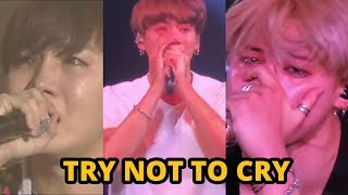 BTS CRYING COMPILATION - TRY NOT TO CRY