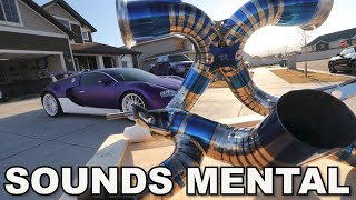 homepage tile video photo for Installing the $38,000 Bugatti Veyron Exhaust!