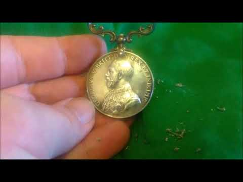 How to clean a Military Medal