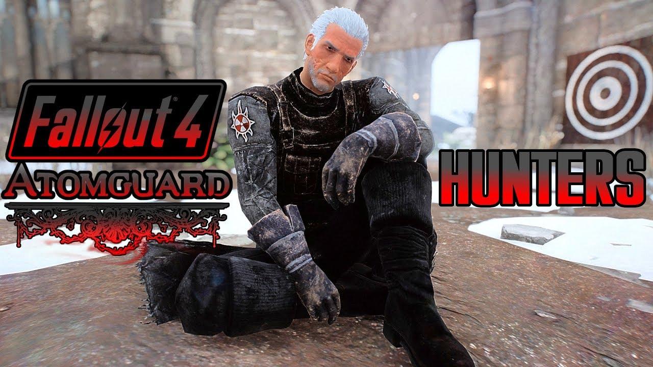Fallout 4 ATOMGUARD - Join Vampire Hunters & Meet Vampire Companion - Xbox  & PC DLC sized Mod