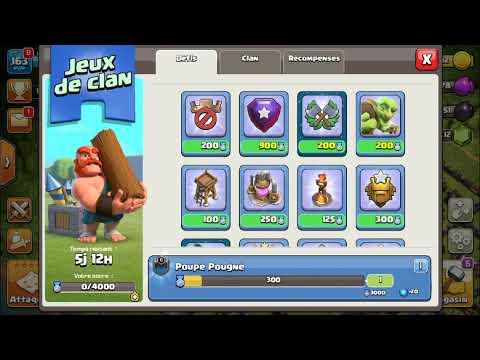 [COC 138] Les Jeux De Clan Dans Clash Of Clans