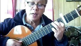 Về Đâu Mái Tóc Người Thương (Hoài Linh) - Guitar Cover