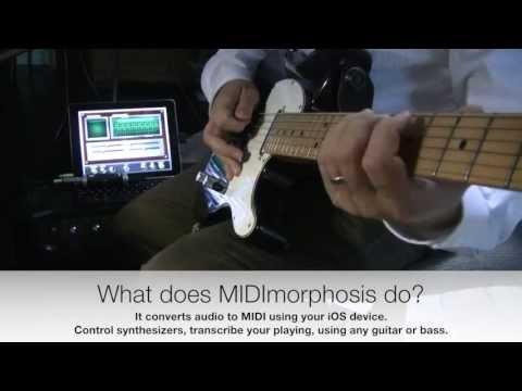 MIDImorphosis 1.6 - Polyphonic pitch to MIDI for iOS
