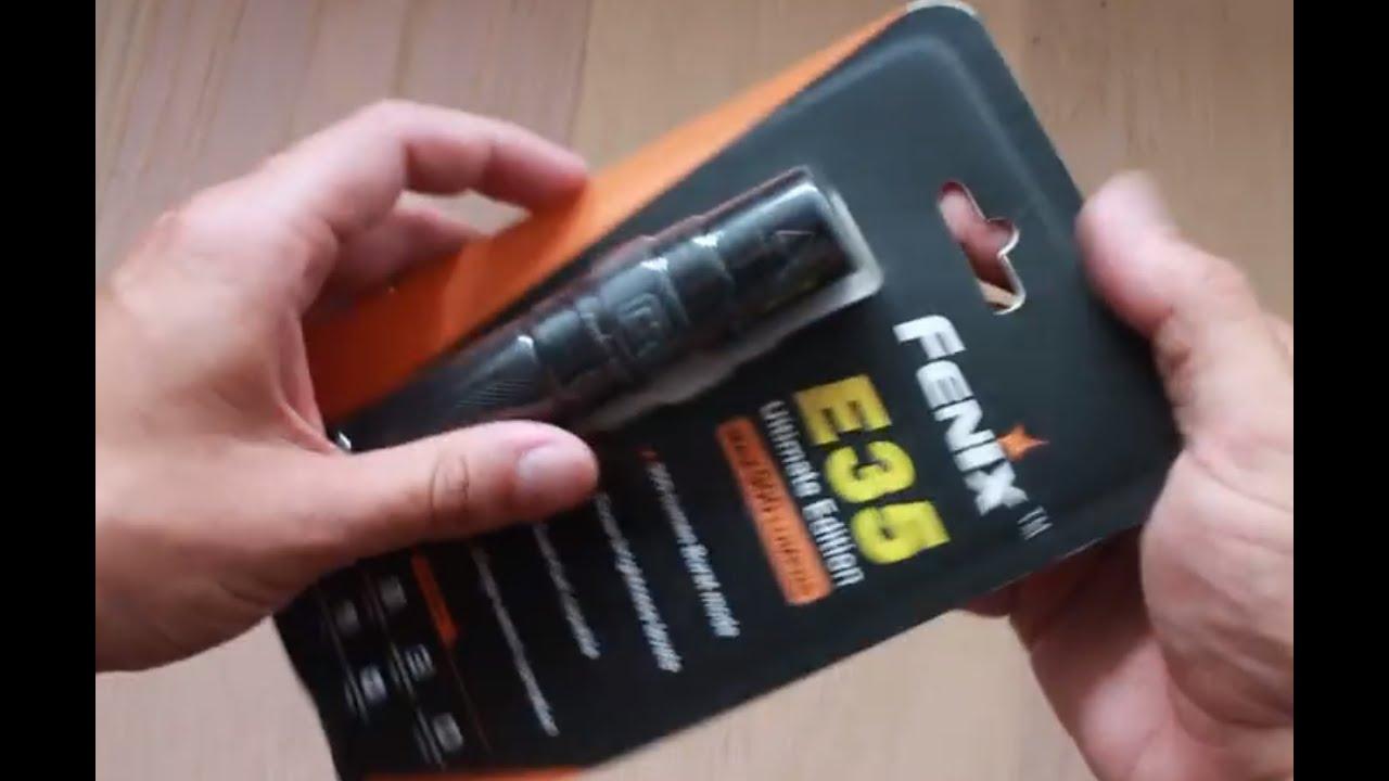 Super Fenix E35 ultimate edition 900 lumen - YouTube TQ-25