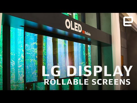 LG Display's flexible screen first look at CES 2020