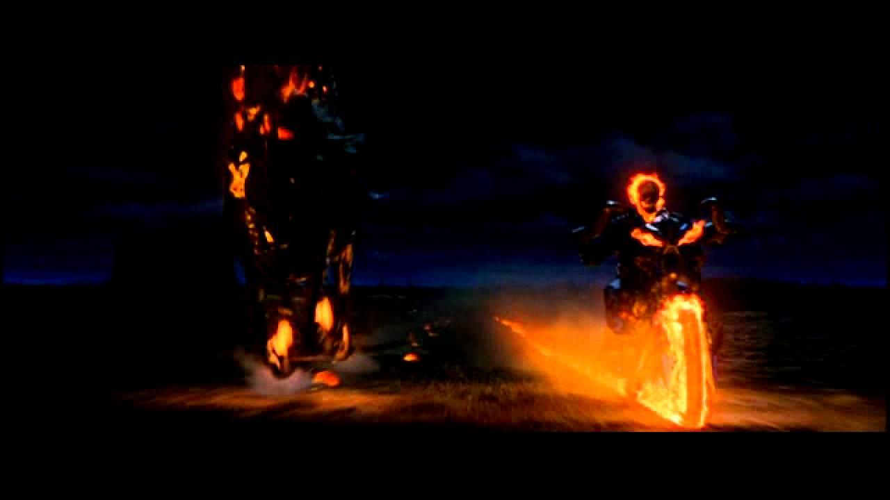 Ghost Rider Scene Johnny Blaze Et Carter Slade