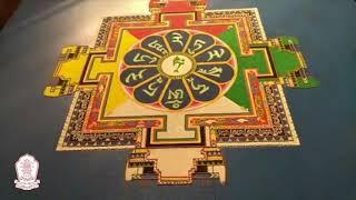Green Tara Sanda Mandala: Creation, Consecration, and Dissolution