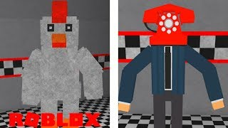 Finding Secrets and NEW Animatronics in Roblox Old Sport's Family Diner Roleplay
