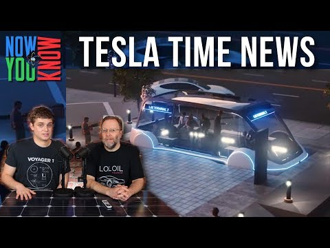Tesla Time News - Boring for Pedestrians, and more!