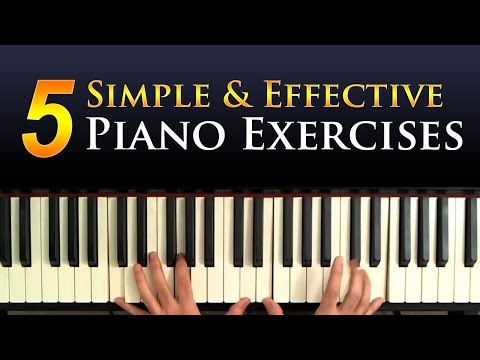 5 Simple Piano Exercises For Building Technique