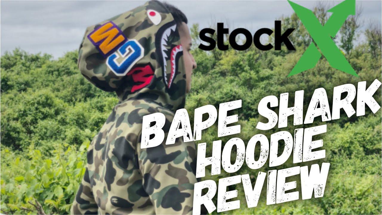90a1a547 BAPE SHARK HOODIE ON STOCK X? @OSCARMTV - YouTube