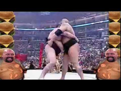 Big Show vs Akebono Funny Moments