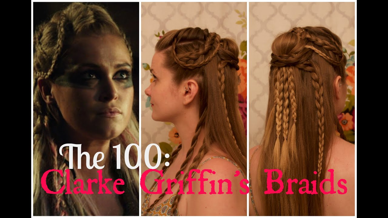 The 100: Clarke Griffin\'s Braids - YouTube