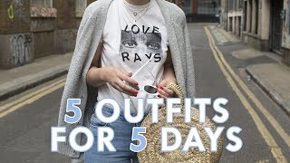 One of What Olivia Did's most viewed videos: 5 OUTFITS FOR THE WEEK AHEAD | What Olivia Did
