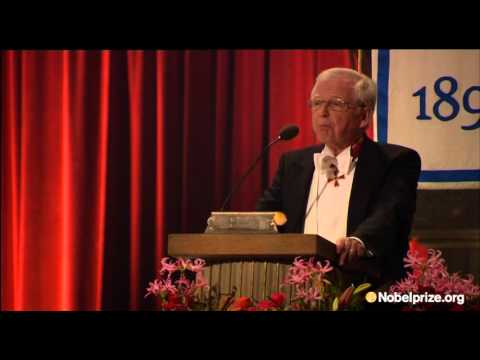 """""""Scientists don't usually cry in public"""" - Harald zur Hausen on being awarded the Nobel Prize"""