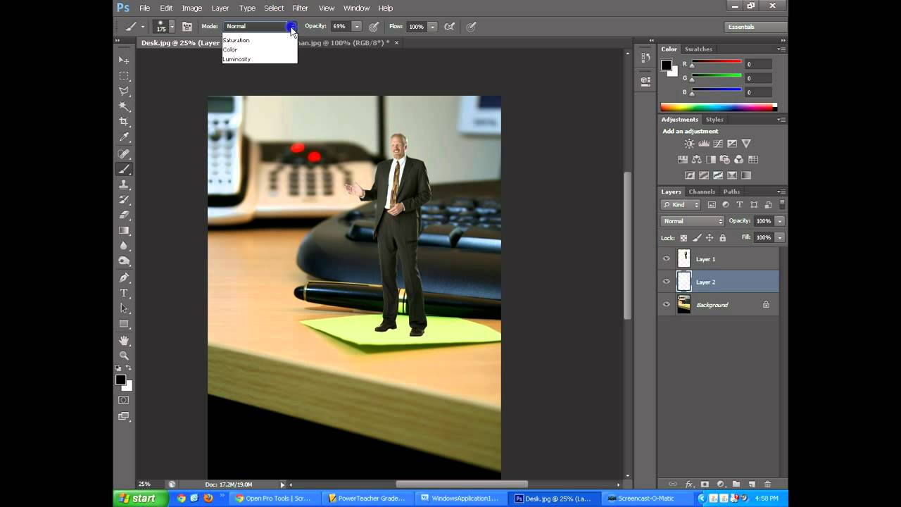 How to cut in Photoshop an image of an object from one photo and paste it into another Tell me, please, step by step