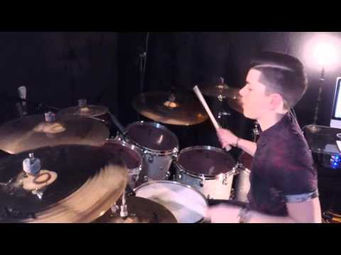 Brantley Shaffer  - Trans-Siberian Orchestra - Carol Of The Bells  - Drum Cover