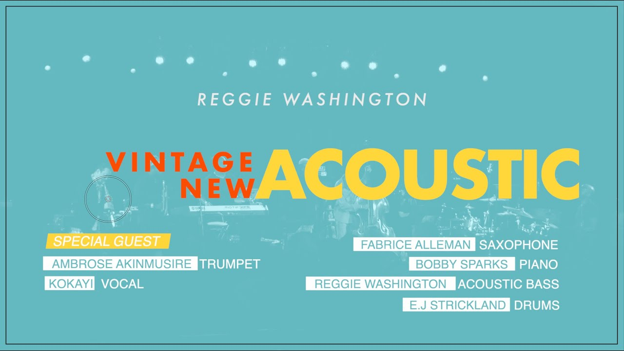 Reggie Washington | Vintage New Acoustic at Jazz Middelheim Festival '19 | A TRIBUTE TO ROY HARGROVE