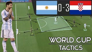 What Went Wrong for Sampaoli's Argentina vs Croatia in World Cup? ARGENTINA 0-3 CROATIA: Tactics