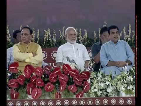 PM Narendra Modi launches various projects of Kandla Port Trust