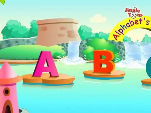 ABC Fun - An animation song by Jingle Toons illustrating the alphabets A, B, C..