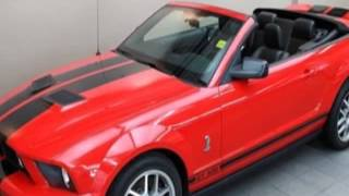 2008 Ford Mustang SHELBY GT500 w/ 6-SPD! NAVIGATION! BREMBO BRAKES! Convertible - Guelph, ON
