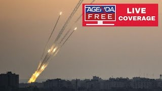 Gaza Rocket Attacks on Israel & Israeli Airstrikes - LIVE COVERAGE