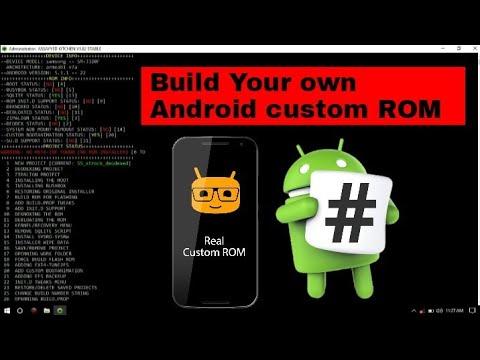 How to make custom ROM ( Easy Way)   Build Android custom ROM
