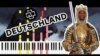 Rammstein  Deutschland  Piano Tutorial  Sheets