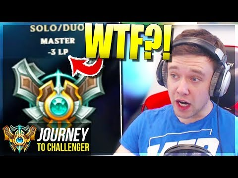 WTF HAPPENED TO MY LP?????!????? - Journey To Challenger | League of Legends