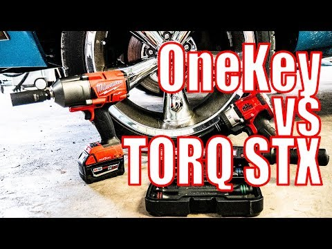 Milwaukee Impact with OneKey vs Torque Sticks