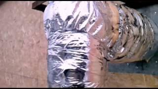 Вывод трубы дымохода котла через каркасную стену(Фонд помощи и развития канала: QIWI 89649774999 Вариант вывода трубы дымохода газового котла через стену каркасног..., 2016-03-15T10:00:22.000Z)
