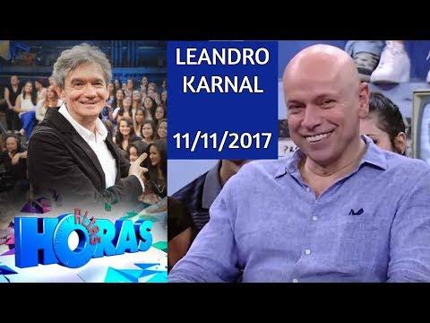 LEANDRO KARNAL - Altas Horas ☺11/11/2017
