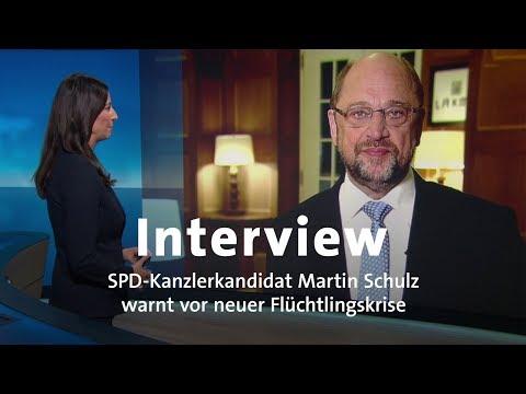 Interview: Martin Schulz warnt vor neuer Flüchtlingskrise