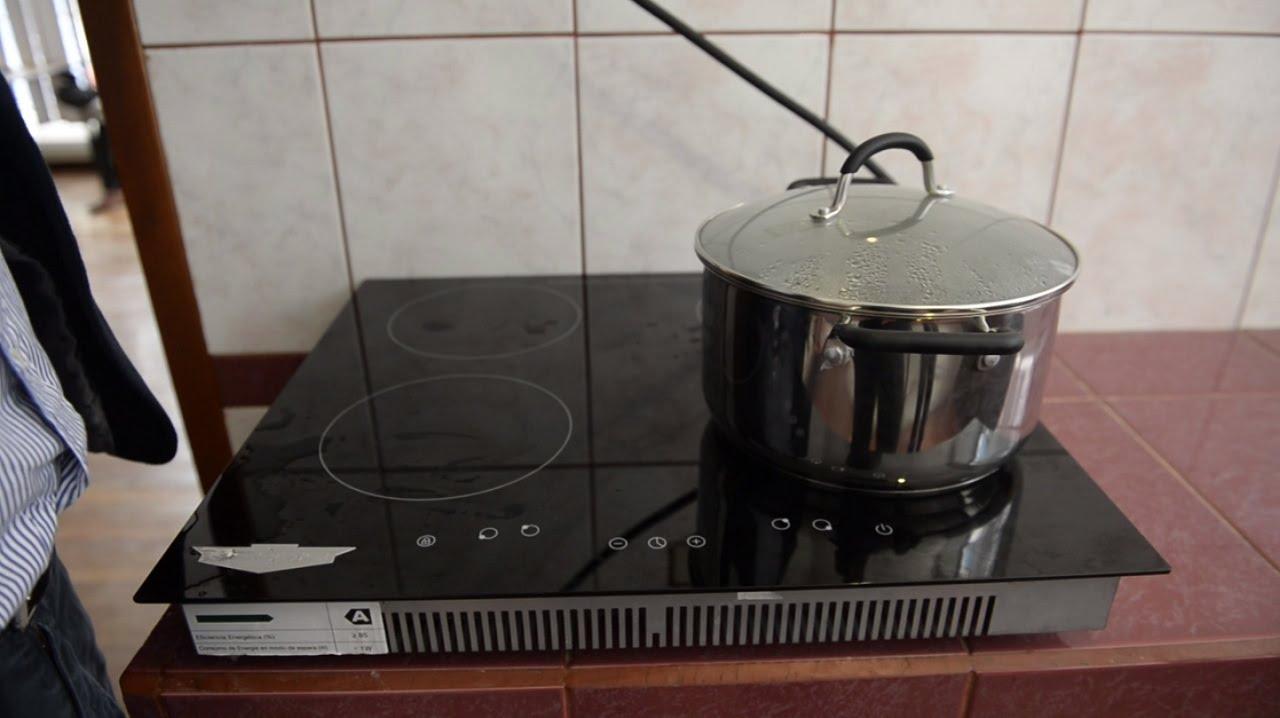 Cmo instalar una cocina de induccin  YouTube