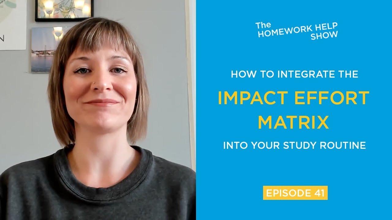 How to Integrate the Impact Effort Matrix | Homework Help USA
