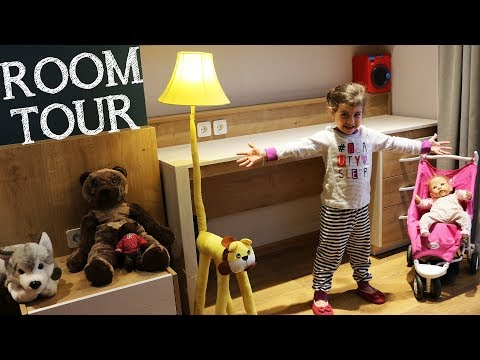 ემილიას ოთახი 🏠 ROOM TOUR. ემილია გვათავალიერებინებს თავის ოთახს
