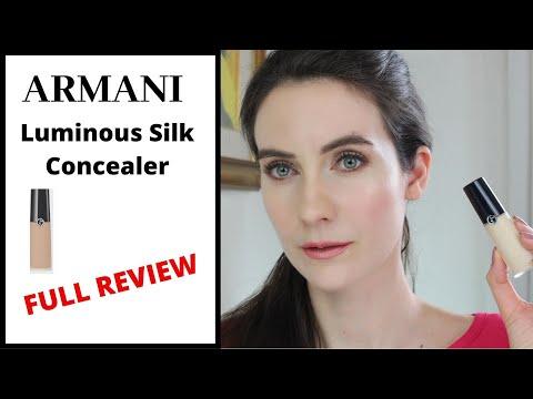 NEW ARMANI LUMINOUS SILK CONCEALER | FULL REVIEW | Angela Van Rose