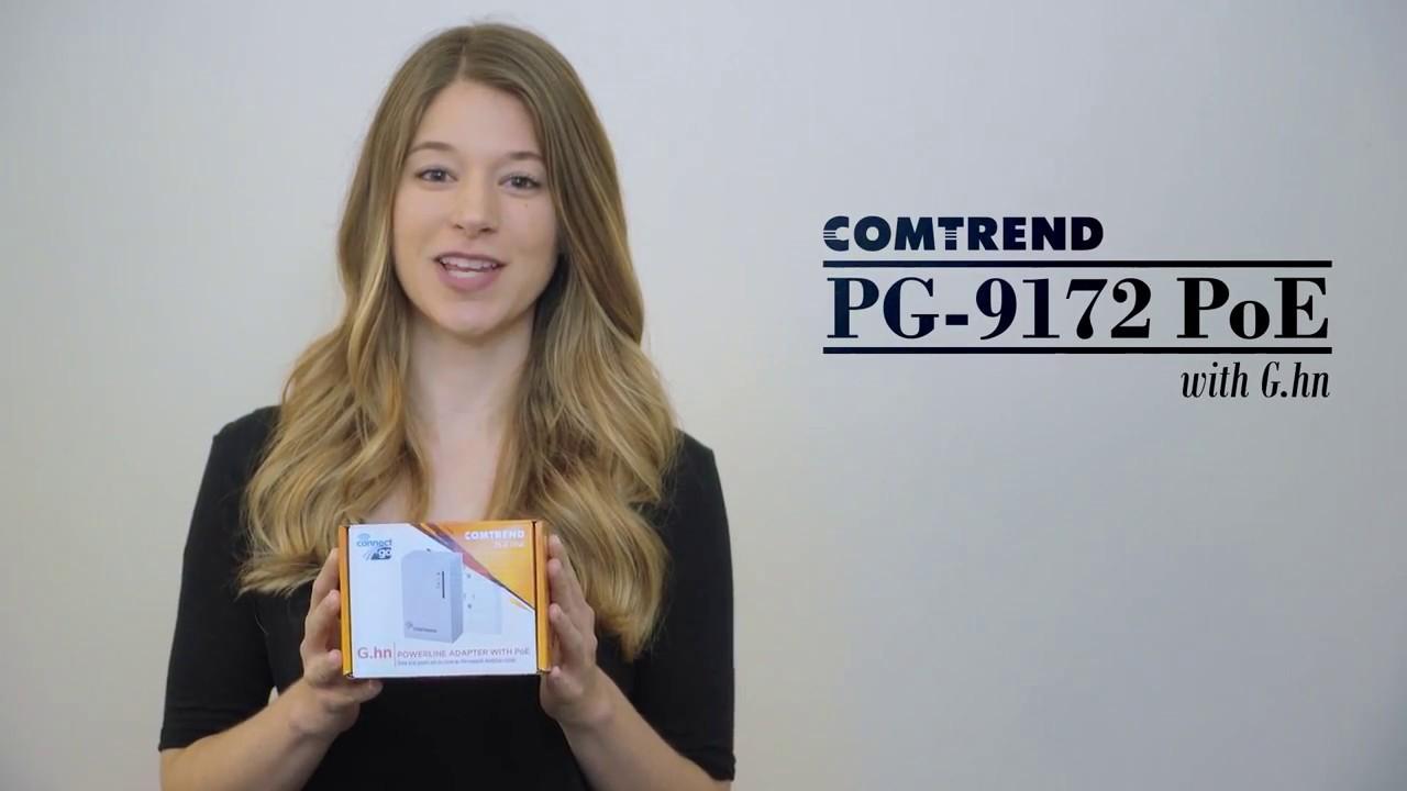 COMTREND PG-9172POE G.HN POWERLINE ADAPTER W// POE