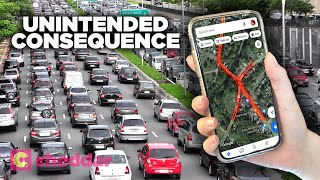 How Navigation Apps Actually Create More Traffic - Cheddar Explores