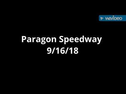 Paragon Speedway 9/16/18
