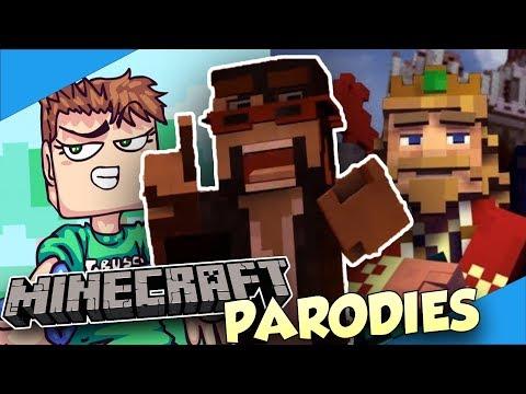 The BEST Minecraft Song Parodies! - Diamondbolt