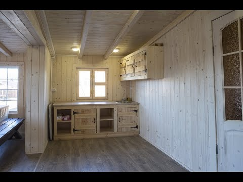 #Обзор_Баня 51м2 с 2 спальнями 360 обзор