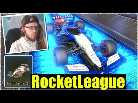 FEIER ICH DAS FORMEL 1 AUTO? - Rocket League [Deutsch/German]