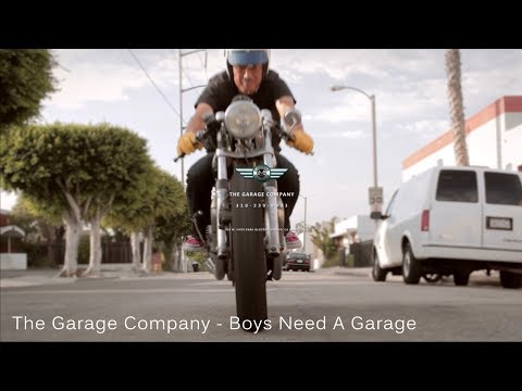The Garage Company - Boys Need A Garage