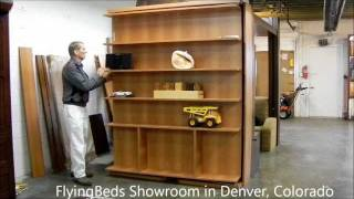 Revolving Murphy Bed From Italy.wmv