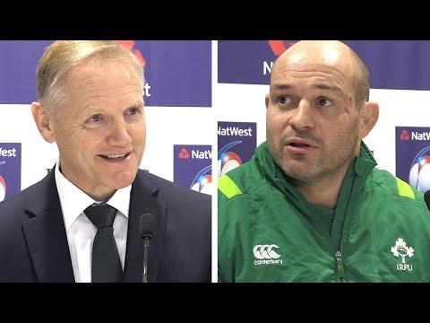 Joe Schmidt & Rory Best Full Pre-Match Press Conference - France vs Ireland - Six Nations