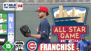 MLB 14: The Show (PS4) Chicago Cubs Franchise - EP15 (2014 All-Star Game)