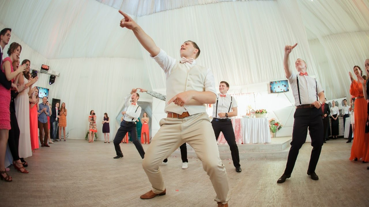 На свадьбу флэшмоб от друзей видео