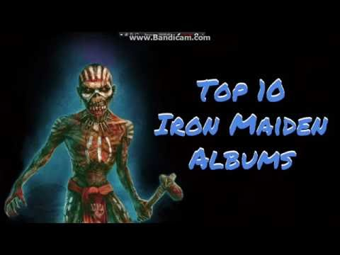 Top 10 Iron Maiden Albums (2017)